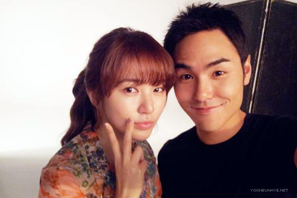 Rua and Yoon have reportedly enjoyed their shoot for the CF together