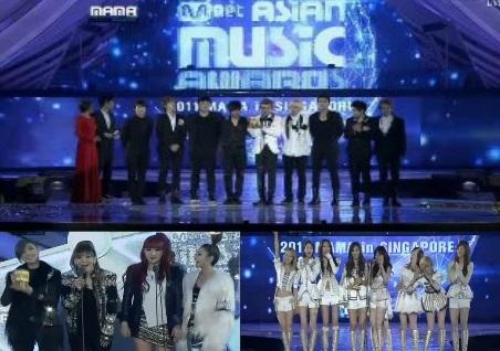 mnet 2011 winners