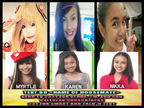 2nd nomination results of pbb teen edition season 4, Karen, Myrtle and Nikka