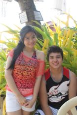 Marco and Miles during their taping in Boracay [2]