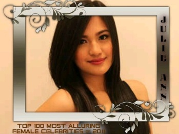 100 MOST ALLURING FEMALE CELEBS 2011 JULIE ANN SAN JOSE