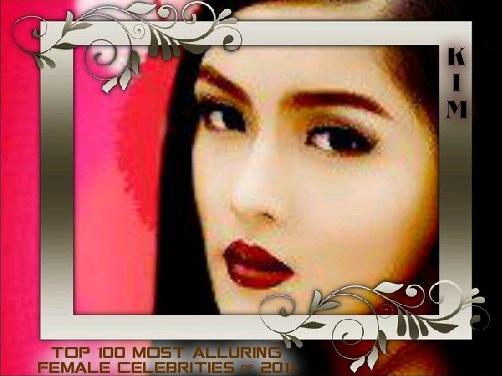 100 MOST ALLURING FEMALE CELEBS 2011 KIM CHIU