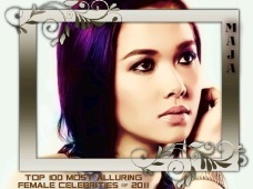100 MOST ALLURING FEMALE CELEBS 2011 MAJA SALVADOR