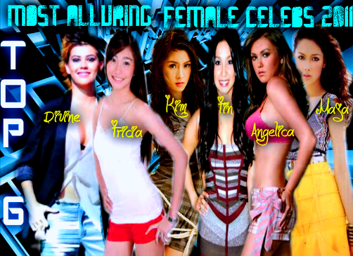 final round most alluring female celebs 2011 top 6