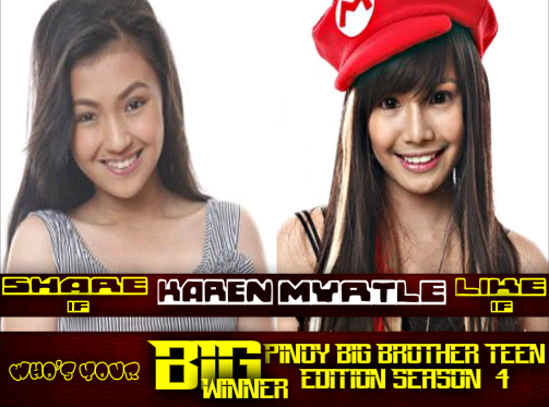 pbb big winner  karen or myrtle