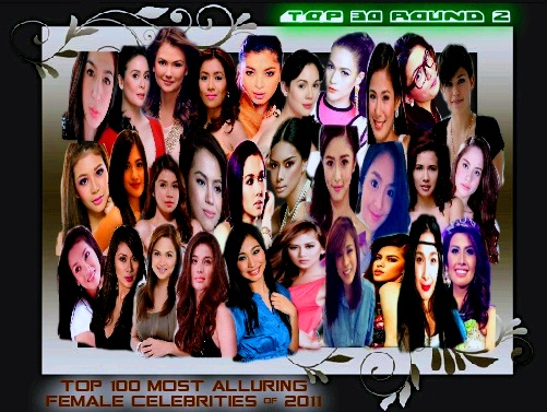 top 30 most alluring female celebrities in philippines 2011