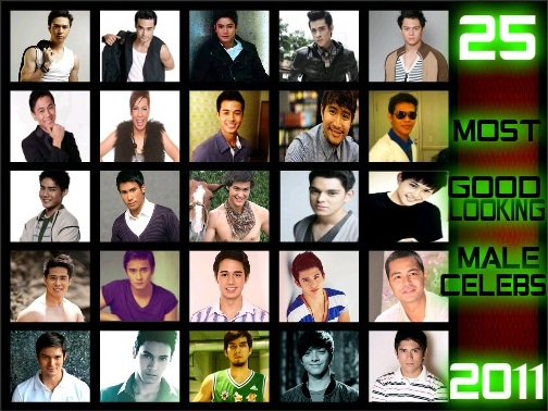 TOP 25 MOST GOOD LOOKING MALE CELEBS 2011