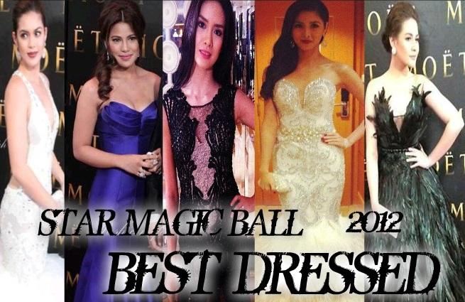 star magic ball 2012 BEST DRESSED ENTERVEXWORLD