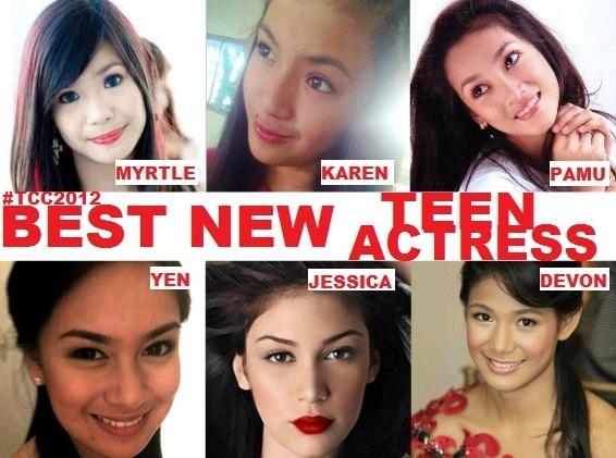 TEEN CHOICE CITATION 2012 BEST NEW TEEN ACTRESS