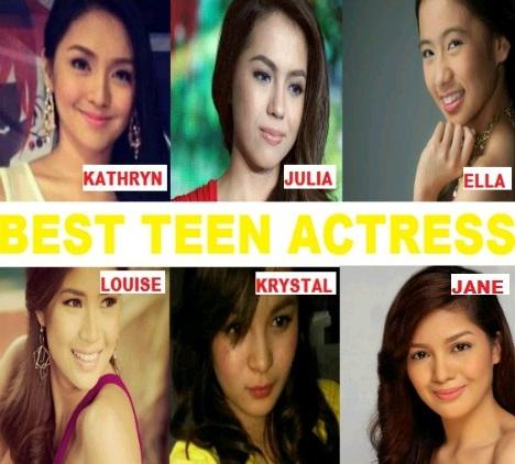 TEEN CHOICE CITATION 2012 BEST TEEN ACTRESS
