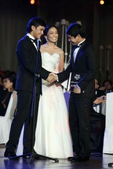 ZMM star magic ball 2012 matteo, kathryn and coco