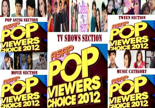 asappopviewers2012 nominees revealed FULL LIST