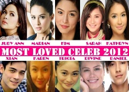 MOST LOVED CELEB 2012 FINAL TOP 10 2