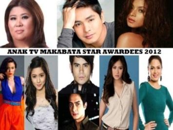 ANAK TV STAR AWARDEE 2012 WINNERS