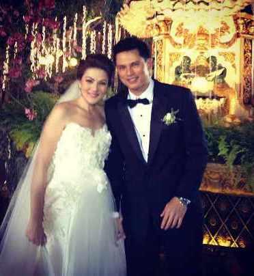 Carmina+Villaroel+and+Zoren+Legazpi+wedding+photo