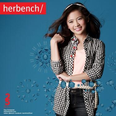ella cruz endorses bench