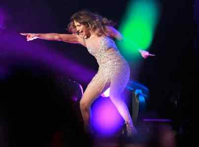 jennifer lopez in manila