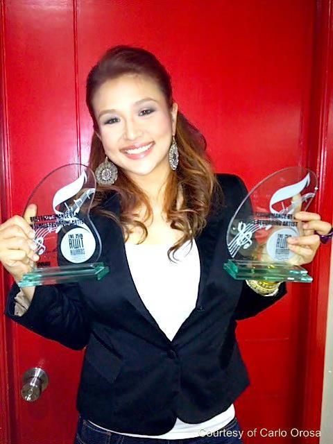 zia quizon in awit awards 2012