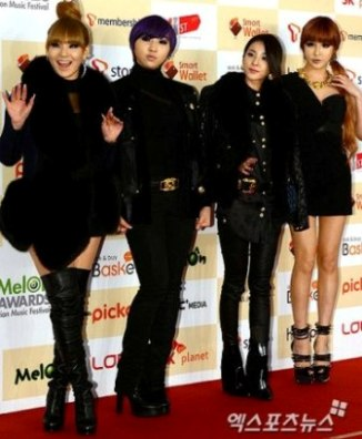 melon music awards 2012 winners 2ne12