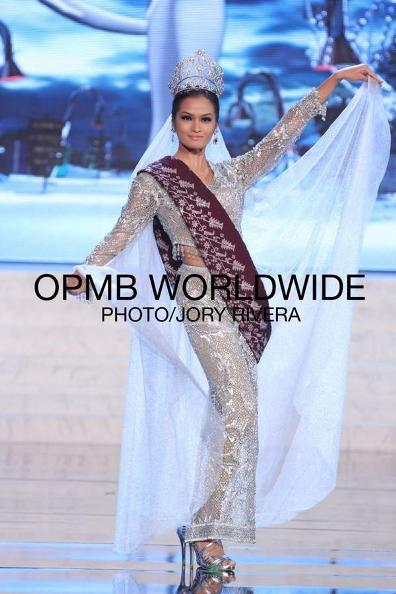 MISS PHILIPPINES JANINE TUGONON FOR miss universe 2012 preliminaries 1national costume