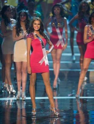 missphilippines top 5 in miss universe 2012