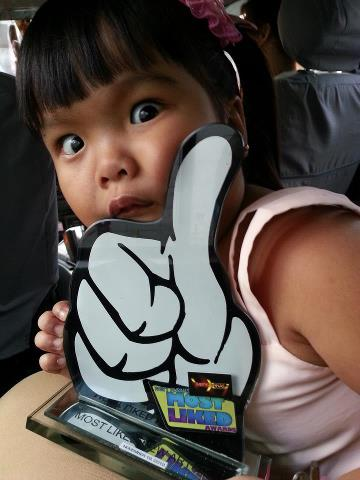 (Party Pilipinas Most Liked Kapuso New Artist Winner- Ryzza Mae Dizon)