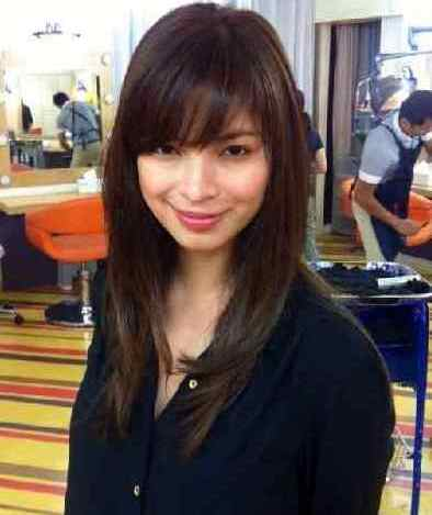 angel locsin new hairstyle 2013