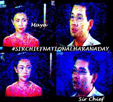 Be Careful Sir Cheif harana si Maya