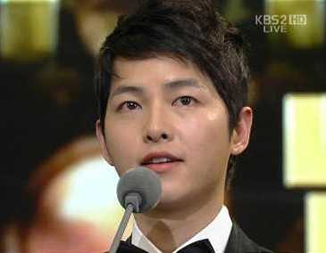 kbs drama awards 2012 winners song joong ki