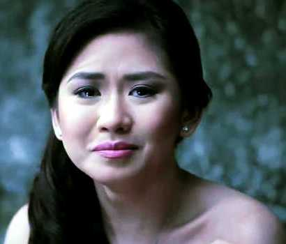 Sarah Geronimo in Teary Eyes on Sarah G. Live Due to the Gerald Anderson-Maja Salvador's Love-Romance