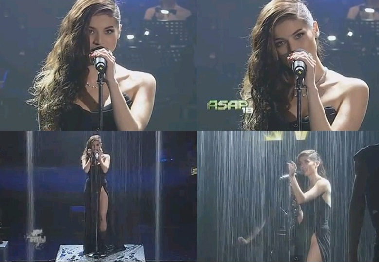 Is Anne Curtis 'PantyLESS' on ASAP 18 While Performing Rihanna's