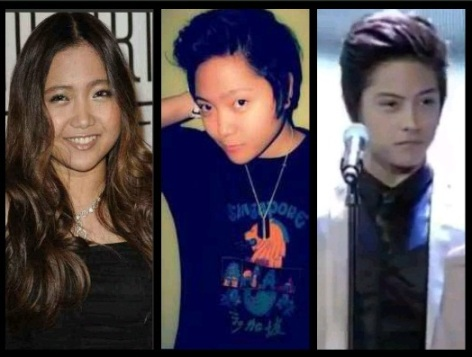 charice manly short hair look a like daniel padilla