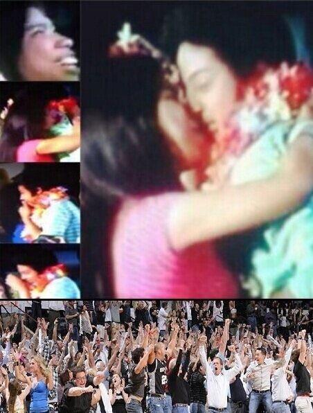DANIEL KISSED BY FAN GIRL