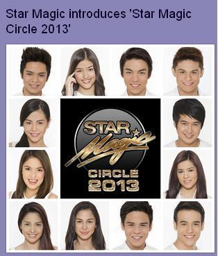 starmagic circle 2013 names