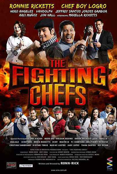 Ronnie Ricketts and Chef Boy Logro Join Forces in 'The Fighting Chefs' [Movie Trailer]