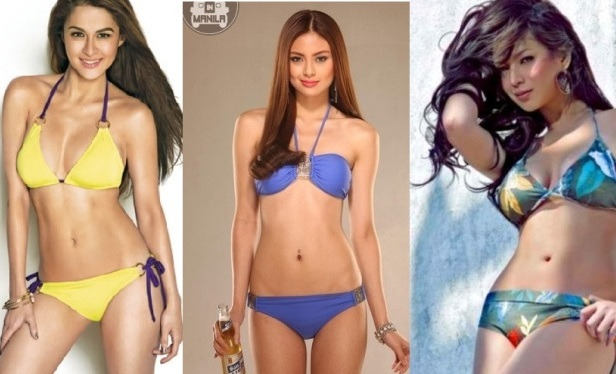 Marian Rivera, Sam Pinto and Angel Locsin Are In A Tight Race for FHM Sexiest Women in the World 2013 [3rd Update]