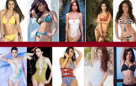 FHM SEXIEST WOMEN IN PHILIPPINES 2013  3rd CURRENT RANKINGS AND UPDATE TOP 10