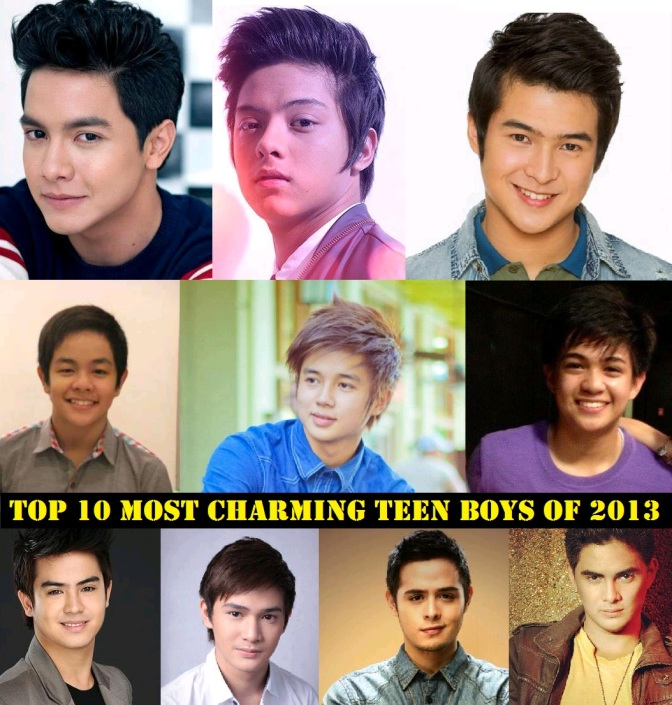 Top 10 Most Charming Teen Male Celebrities 2013 Announced!