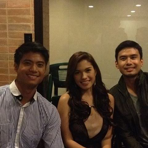 with a smile tv series gma christian, mikael and andrea