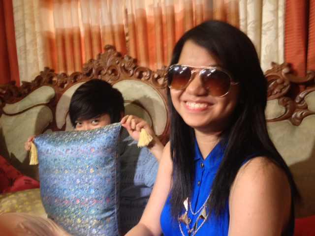 Charice with girlfriend Alyssa Quijano
