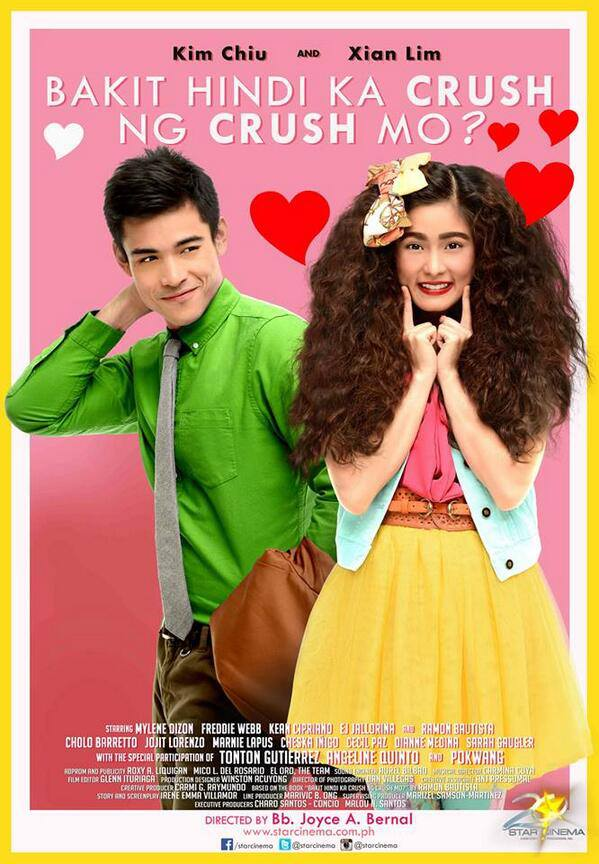 "launching movie as a loveteam, "" Bakit Hindi Ka Crush Ng Crush Mo"
