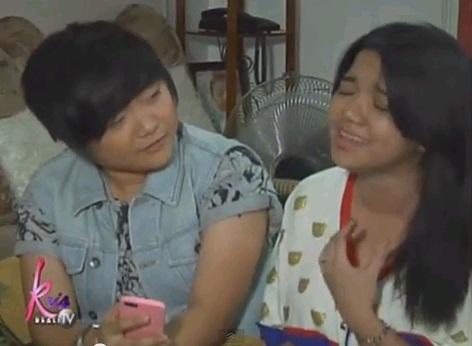 Charice with girlfriend Alyssa Quijano2