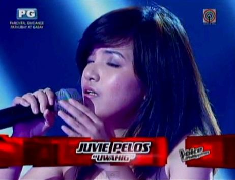 juvie pelos kundingan singer on  the voice ph