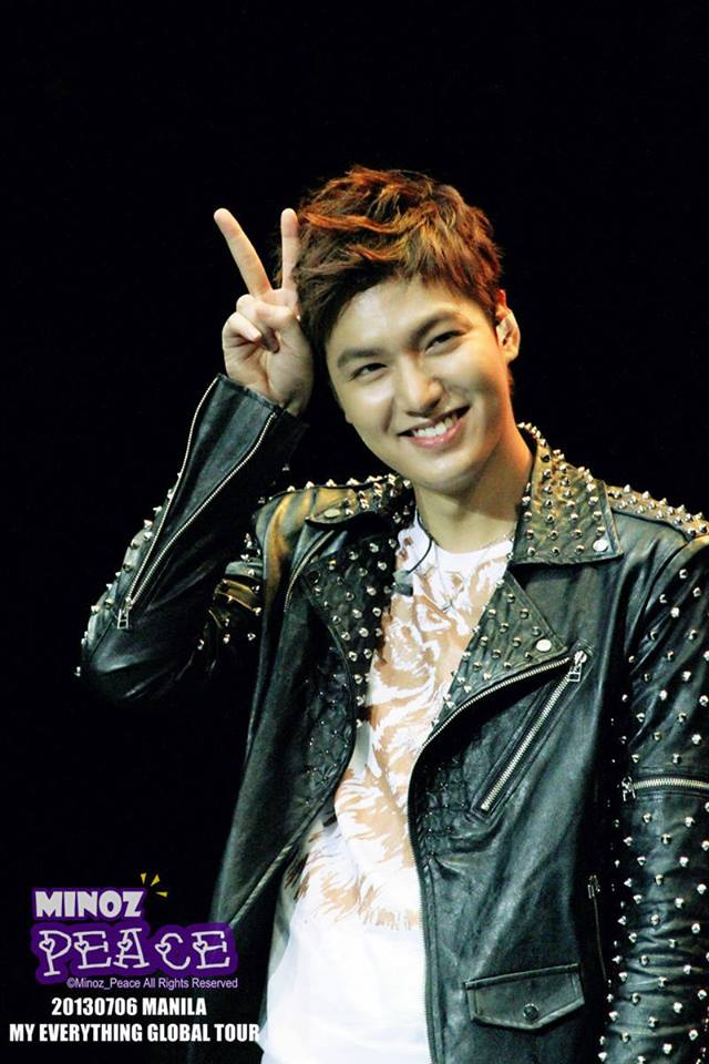 lee min ho concert in philippines4 july 2013