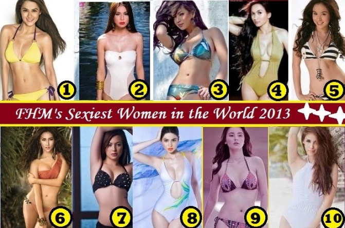 Full List of FHM Philippines' 100 Sexiest Women in the World 2013 Revealed!