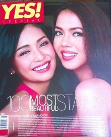 yes magazine 100 most beautiful celebrities in the Philippines 2013