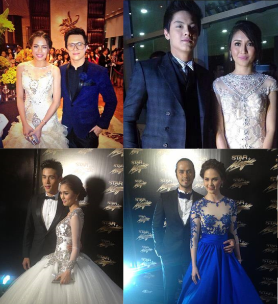 star magic ball 2013 loveteams