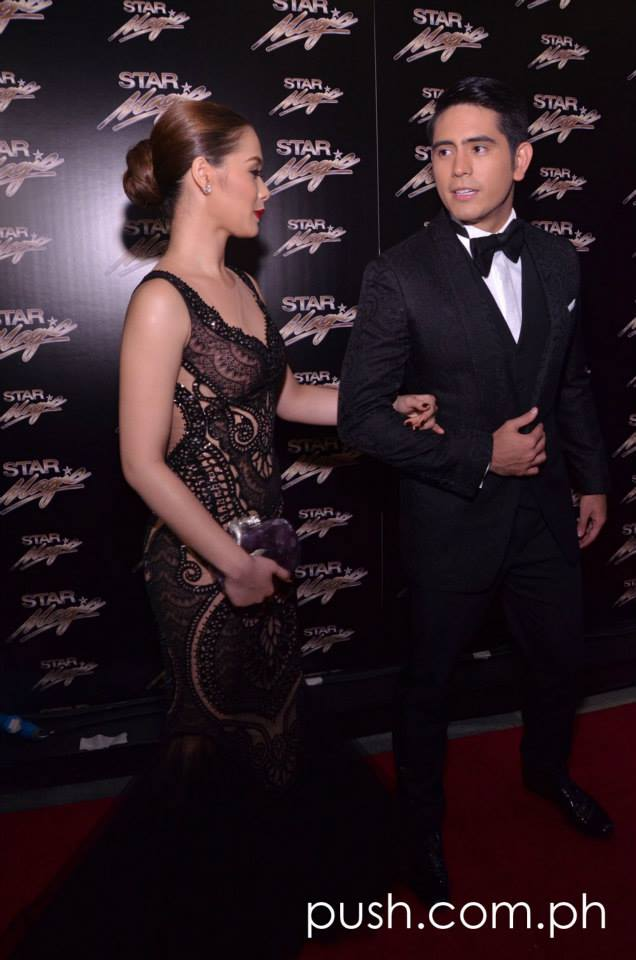 Celebrity couple Maja and Gerald were  awarded Best Dressed Male and Female