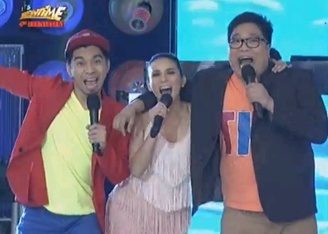 its showtime 4th yr anniversary karylle,  jugs and teddy  magpasikat
