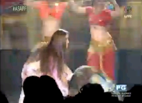 shaina magdayao accident on  asap  18 video